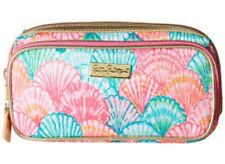 Lilly Pulitzer Print Make It Cosmetic Case Make Up Multi Oh Shello Print NEW