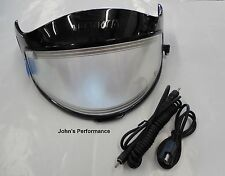 Arctic Cat Snowmobile Complete Electric Heated Shield Kit PFP Helmets 5222-500