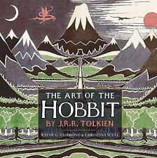 The Art of the Hobbit by J.R.R. Tolkien, Hardcover 2012 First Edition / Printing