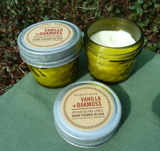 Soy Wax Vanilla Scented Candles Lights