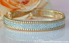 Natürliche Armbänder im Armreif-Stil mit Brilliantschliff mit Diamanten
