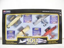 Vintage Corgi 100 Years of Flight Plane Model Collection