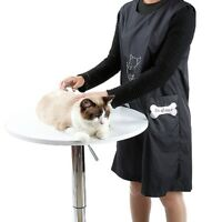 New Pet Grooming Apron Anti-static Sleeveless Workwear Waterproof Groomer Aprons