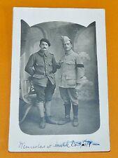 CPA GUERRE 14-18 CARTE PHOTO POILUS 1918