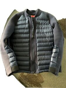 nike men's Tech Fleece aeroloft Bomber jacket size large
