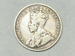 1919  Canada George V Silver Quarter - Private Collection