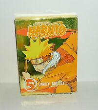 COFFRET DVD VIDEO SHONEN JUMP NARUTO UNCUT BOX SET VOL 5