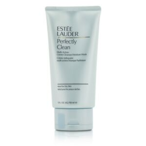NEW Estee Lauder Perfectly Clean Multi-Action Creme Cleanser/ Moisture Mask