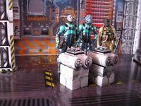 Star Wars Award Winning Custom Cast Battlefront 2 Crates Diorama Parts Free Ship