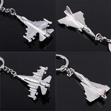 Metal Alloy Aircraft Warplane Keyring Fighter Keychains