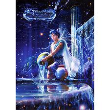 Kagaya Aquarius Zodiac Glow in the Dark 1000 Piece Jigsaw Puzzle