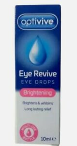 Optivive Brightens Eye Drops Eye Revive Bright &  Whitening Long Lasting Relief