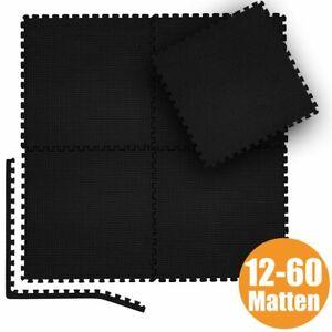 12-60 Puzzlematte Bodenschutz Matte Schutzmatte Fitnessmatte Unterlegmatte EVA