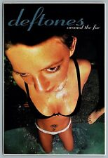 Postcard c1997 Deftones Around The Fur Album Advertisement October 28th Maverick