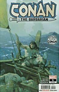 Conan The Barbarian Comic 5 Cover A Esad Ribic First Print 2019 Jason Aaron