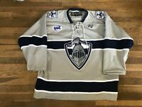 #2 Wilkes Barre Scranton Knights Game Used Gray Jersey NAHL