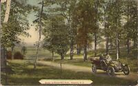 Camden, NEW JERSEY -  Forest Hill Park - 1914 - old car, roadster