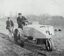 Dan Albone New Invention Ivel Agricultural Motor Tractor 1904 Photo Article 9510