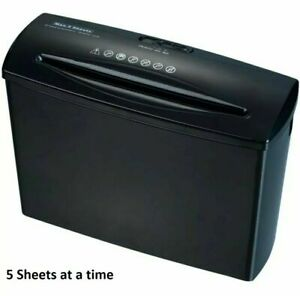 Electric Home Office Shredder Cutter A4 5 Paper Sheets Document Receipts