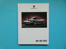 Prospekt / Buch / Katalog / Brochure Porsche 911 (996) GT2  08/01