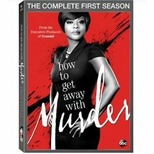 How To Get Away With Murder: Season 1 On DVD With Viola Davis Very Good E16