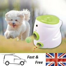 Pet Auto Ball Launcher Thrower Interactive Automatic Dog Fetch Training Machine