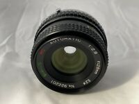 Olympus OM Fit ~ Sirius 28mm F2.8 Wide Angle Lens - Clear Optics