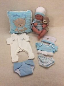 BERENGUER BOY DOLL - ANATOMICALLY CORRECT - REALISTIC NEW  BORN BABY PLUS EXTRAS