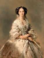 Portrait of Queen Maria Alexandrovna oil painting Giclee Printed on canvas L2690