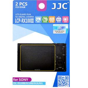 JJC LCP-RX100III polycarbonate LCD Screen Protector Sony RX100II rx100iii