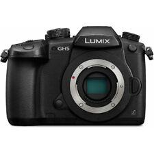 Panasonic LUMIX DC-GH5 Mirrorless 4K Digital Camera Body 20.3MP with WiFi GH5