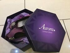 Luxury Clarks purple ladies high heel shoes size 4 wedding prom or occasion L@@k