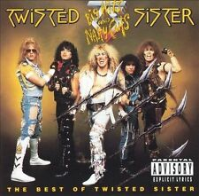 Big Hits and Nasty Cuts: Best of Twisted Sister [PA] GREATEST HITS (CD,