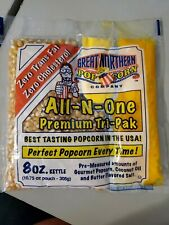Popcorn Great Northern Premium Quality 8oz Snack Packs Case Of 40