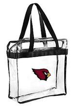 NFL Arizona Cardinals Clear Zipper Massenger Bag Stadium Approved