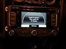 VW Golf 6 Touran RNS 310 Navigation System Radio Navi defekt #1093