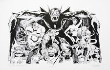 DON RICO LTD ED S/N LITHOGRAPHS CLAW AND HIS HENCHMEN & DAREDEVIL BESIEGED