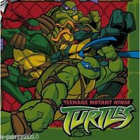TEENAGE MUTANT NINJA TURTLES LUNCH NAPKINS (16) ~ Birthday Party Supplies Green