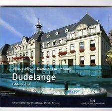 Euro LUSSEMBURGO 2014 in Folder Ufficiale 9 monete FDC
