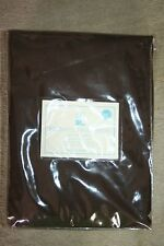 """Pottery Barn Kids Brushed Twill Panel Brown 44 x 96"""""""