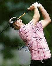 Vaughn Taylor Hand Signed 8x10 Photo PGA