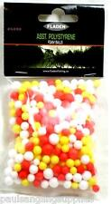 Polystyrene Fishing Assorted Sized Foam Balls for Pop up Baits Rigs Etc