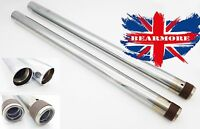 FRONT FORK MAIN TUBE ROYAL ENFIELD ELECTRA SET OF 2 UNITS CHROME PLATED