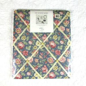 Waverly Garden Room Floral Photo Memory Board New SEALED Cottage Shabby Blue