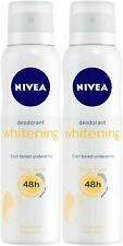 Nivea Whitening 48H Floral Touch Deodorant For Women, 150ml x 2 (Pack of 2)