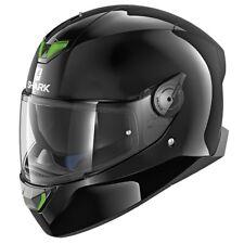 Nuevo casco SHARK SKWAL 2-Negro Brillante Casco de Motocicleta con sistema de luz LED ZQ