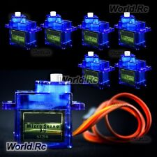 6 Pcs SG-90 SG90 9g Micro Gear Servo For RC Model Buggy Helicopter Plane Boat