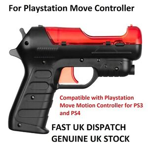 Playstation Move Motion Pistol Blaster Gun Attachment for PS3 & PS4 VR - UK