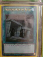 Yugioh Preparation of Rites Ultra Rare BLRR-EN088 1st Edition Near Mint