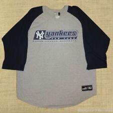 VINTAGE PUMA Brand - NY YANKEES MLB - Men Adult LARGE Jersey Tee Tshirt - MINT
